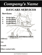 Flyer For Daycare