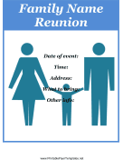 Flyer For Family Reunion