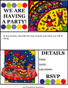 Flyer For Party