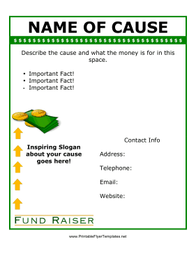 Fundraising Flyers Templates  Donation Flyer Template