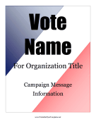 voting flyer templates free - advertising flyers