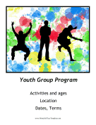 Youth Group Flyer Printable Template